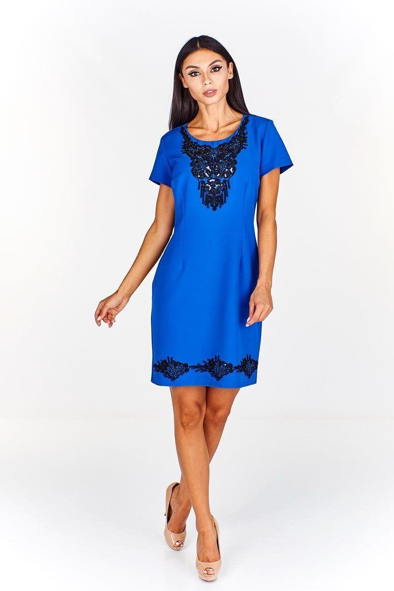 Sukienka FSU695 CHABROWY