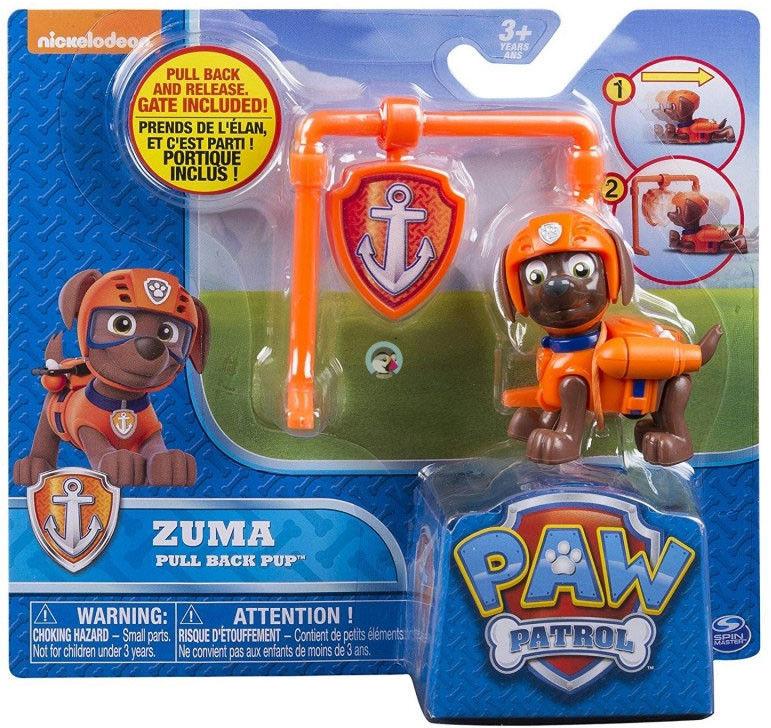 Psi Patrol - Zuma figurka akcji Pull Back 20082987