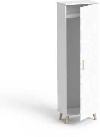 5OH Szafa ubraniowa SV-05D drewno SMB Biały