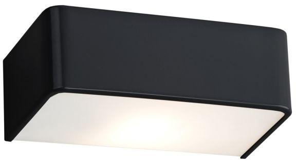 Kinkiet Rodan 3079 Argon nowoczesna oprawa w kolorze czarnym