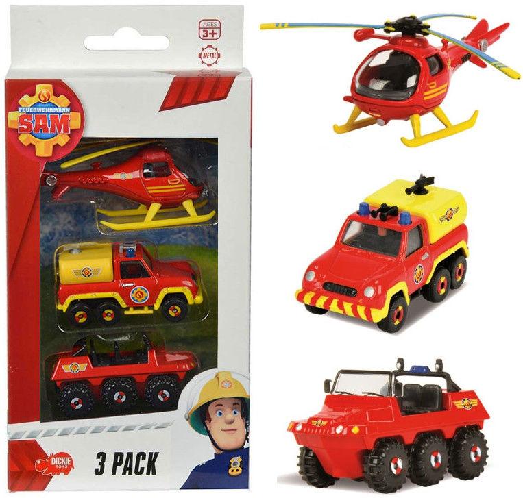 Strażak Sam - 3 Pak pojazdów Strażaka Sama 3099629 A