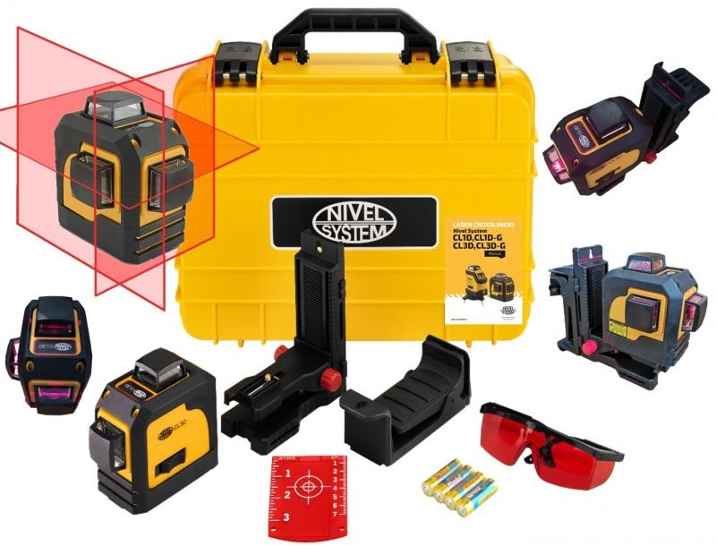 Nivel System CL3D Laser krzyżowy 360  wer. 3.0