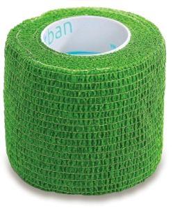 StokBan 5 x 450cm-zielony Bandaż elastyczny samoprzylepny