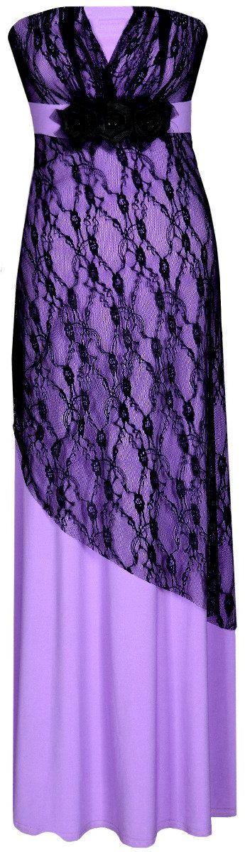Sukienka FSU141 ŚLIWKOWY JASNY