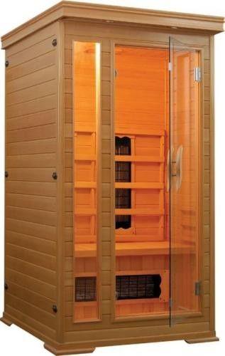 PUNTO Sauna na podczerwień 1-osobowa 94x101 cm 60613