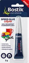 Bostik Klej Cyjanoakrylowy Speed Glue Liquid 2G