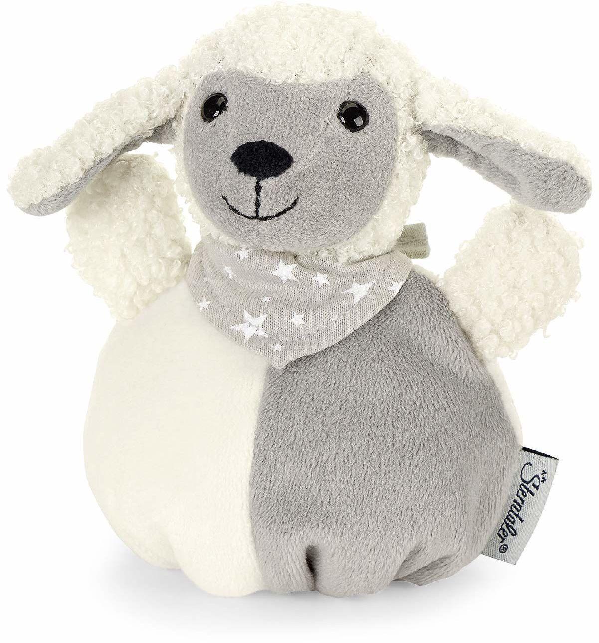 Sterntaler 3321968 przytulanka owca poduszka, wielokolorowa