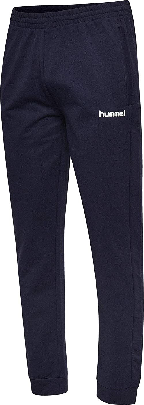 hummel Spodnie męskie Hmlgo Cotton Nt niebieski morski L