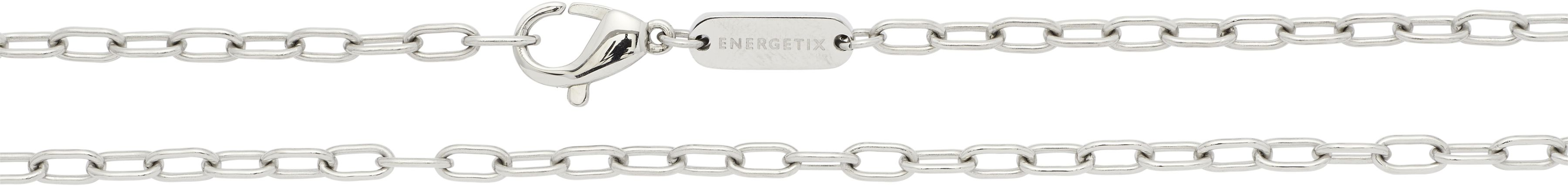 łańcuszek magnetyczny 2779-1 wyraziste ogniwa ze stali szlachetnej 90cm.