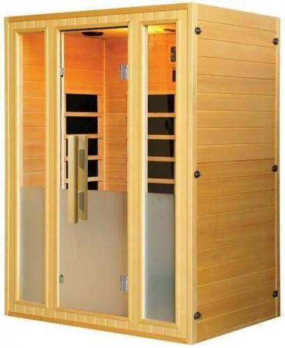 OPTIMAL Sauna na podczerwień 2-osobowa 174x138 cm H30320