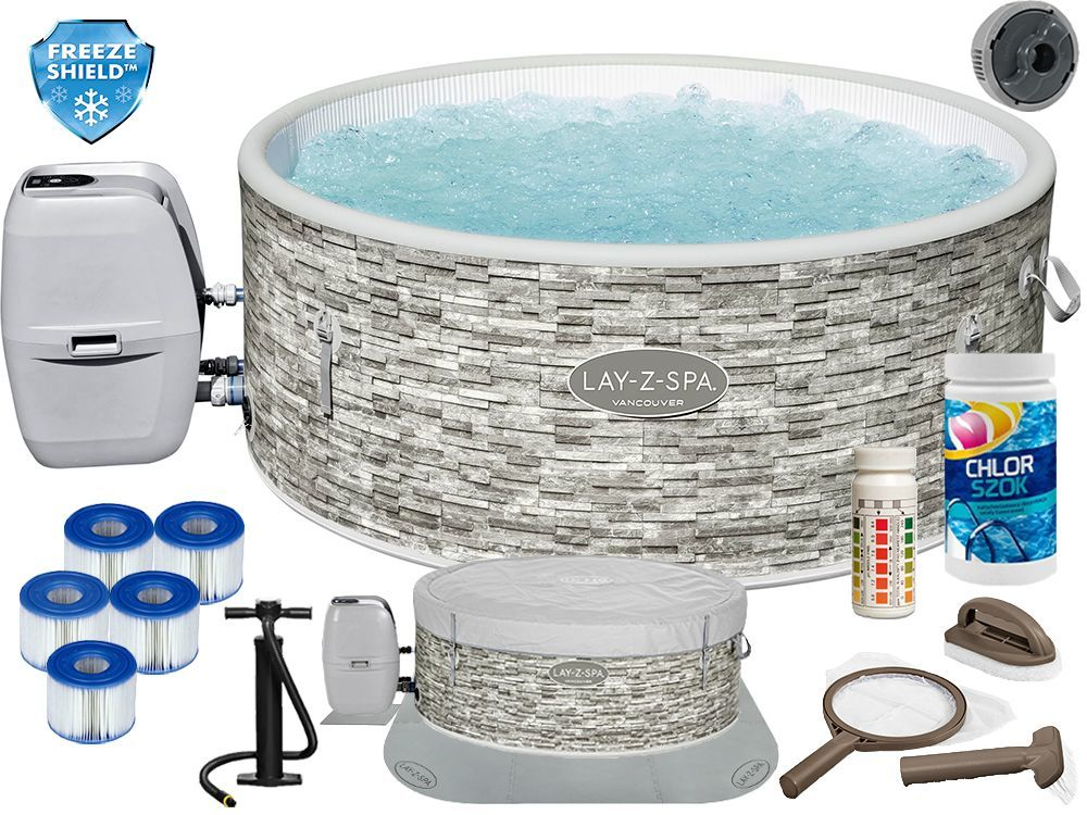 Jacuzzi Lay-Z-Spa Vancouver Bestway 60027