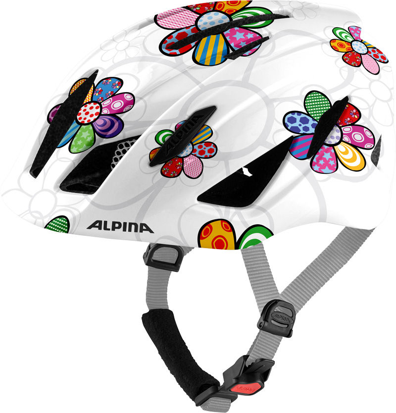 ALPINA KASK ROWEROWY PICO PEARLWHITE FLOWER GLOSS 50-55 Rozmiar: 50-55,A9761111pic