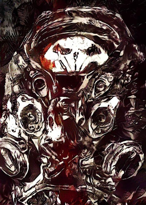 Legends of bedlam - raynor, starcraft - plakat wymiar do wyboru: 21x29,7 cm