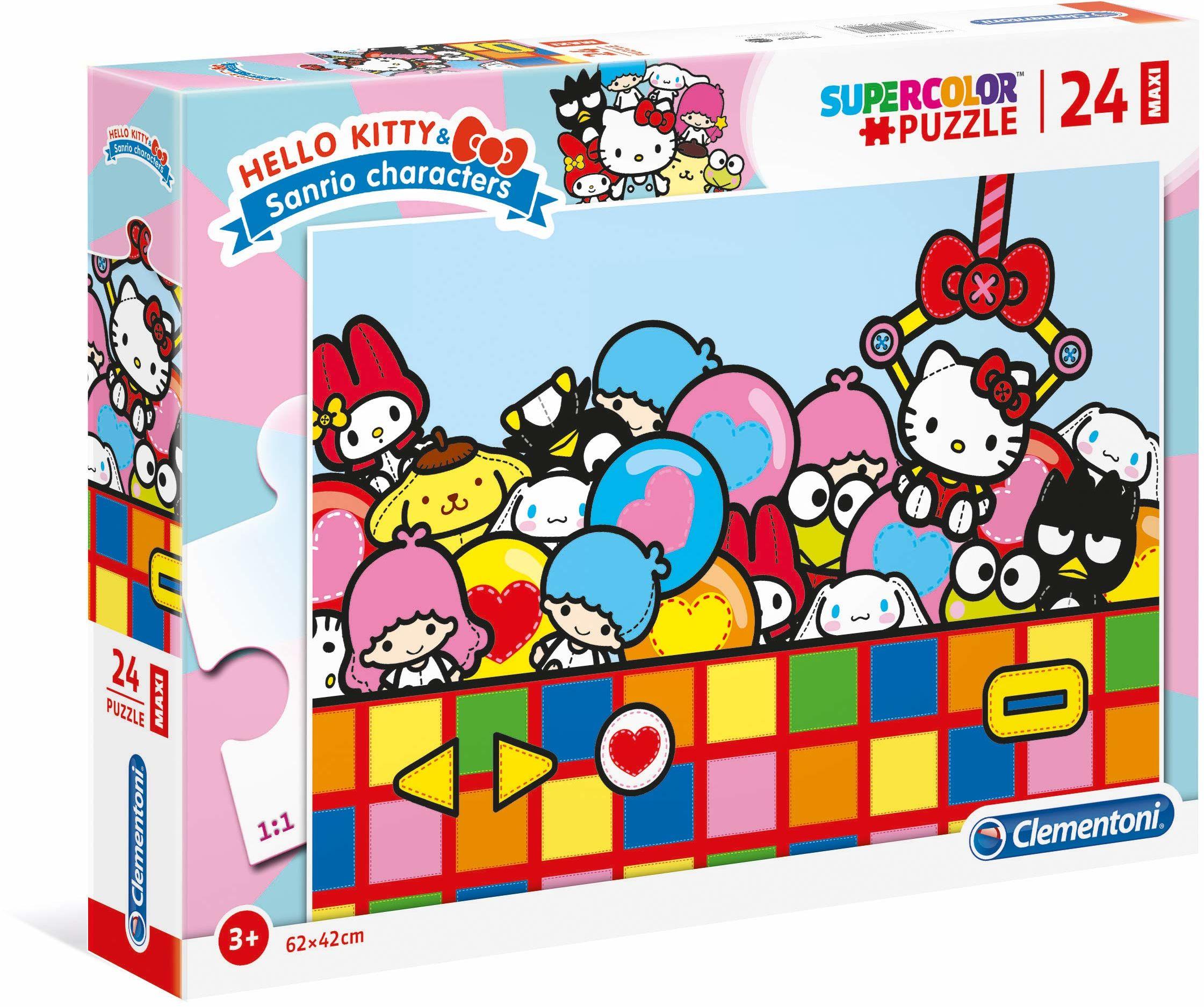 Clementoni 24202 24 szt. Puzzle Maxi - Hello Kitty