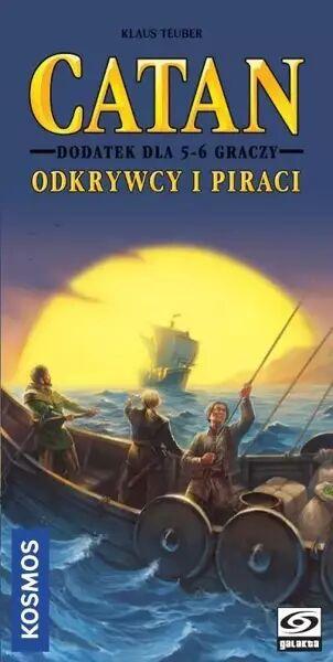 Catan: Odkrywcy i Piraci dodatek dla 5-6 graczy - Klaus Teuber