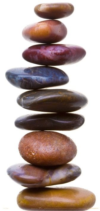 Zen stones - kamienie - fototapeta