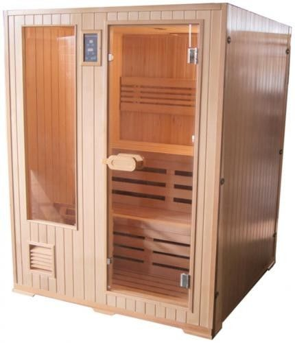 HELSINKI Sauna fińska 3-osobowa 152x152 cm H60330