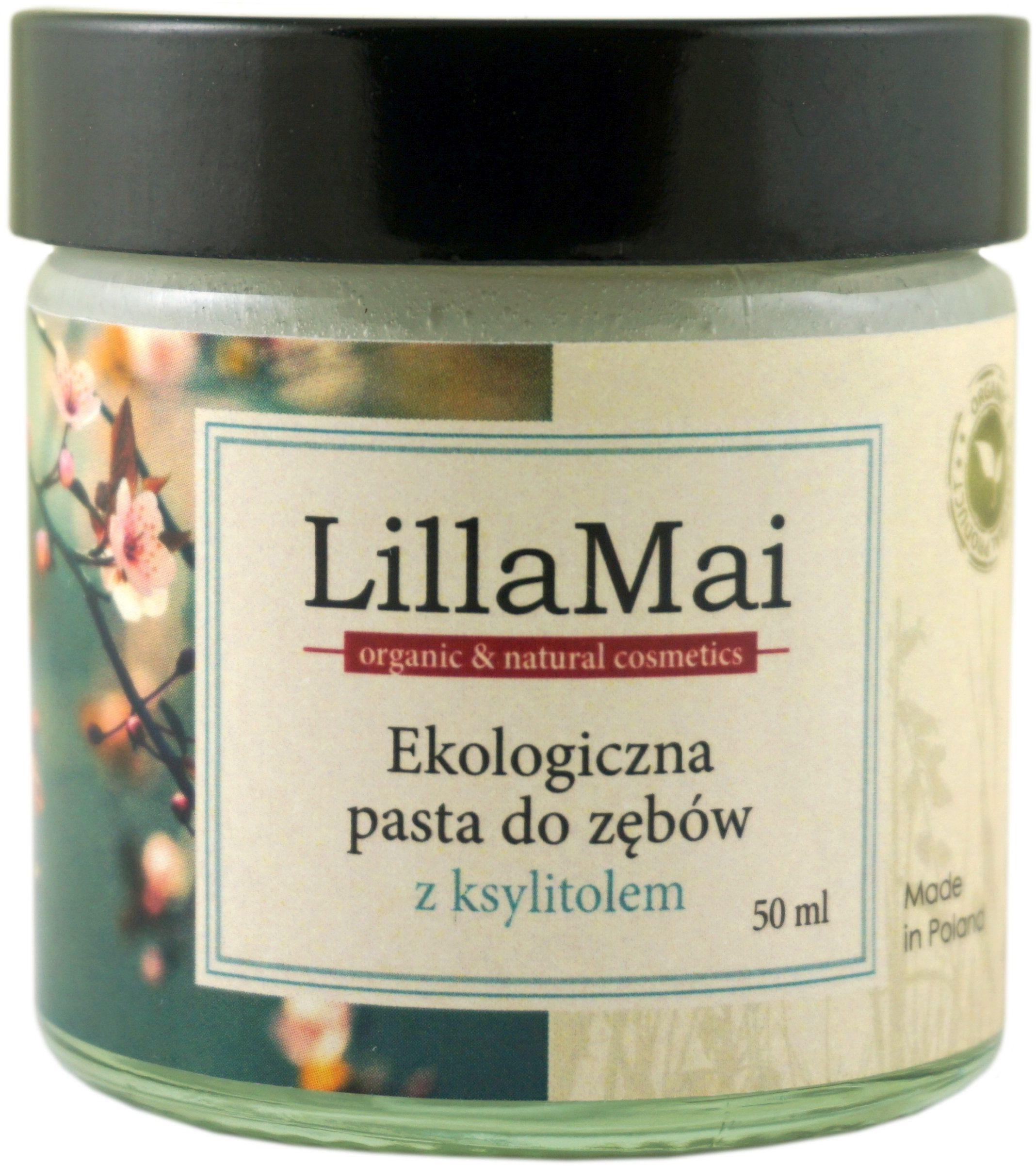 Ekologiczna Pasta do Zębów z Ksylitolem - 50 ml - LillaMai