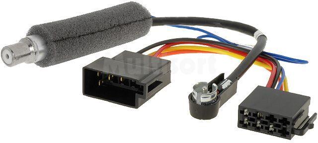 Separator antenowy ISO-ISO VW, Audi, Seat, Skoda +zas.