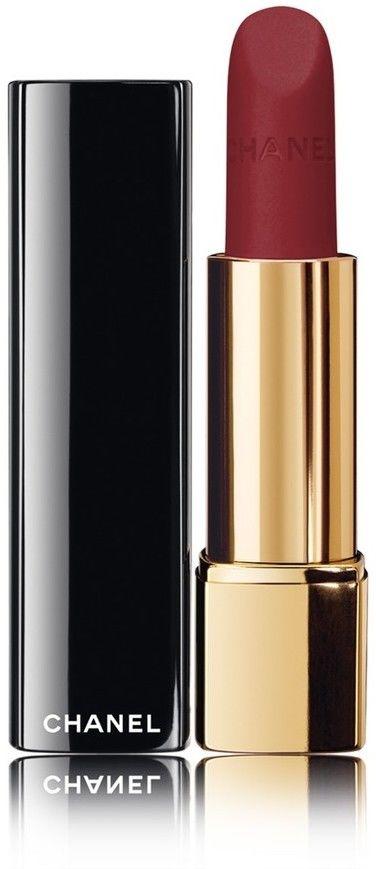 Chanel Rouge Allure Velvet jedwabista pomadka z matowym wykończeniem odcień 63 Nightfall 3,5 g