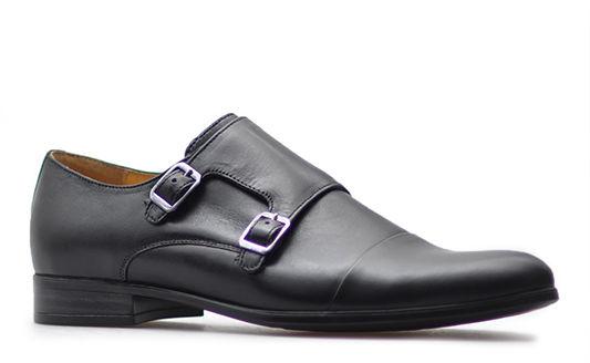 Pantofle Pan 1040 Czarne lico