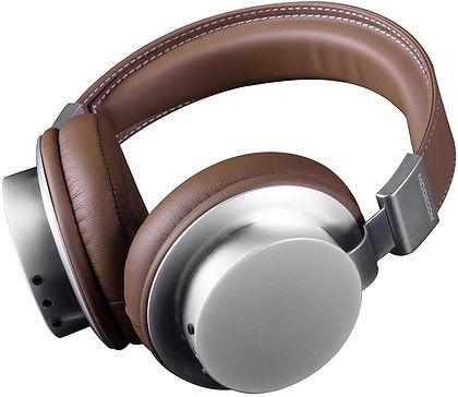 Modecom słuchawki bezprzewodowe z mikrofonem MC-1500 HF Brązowe