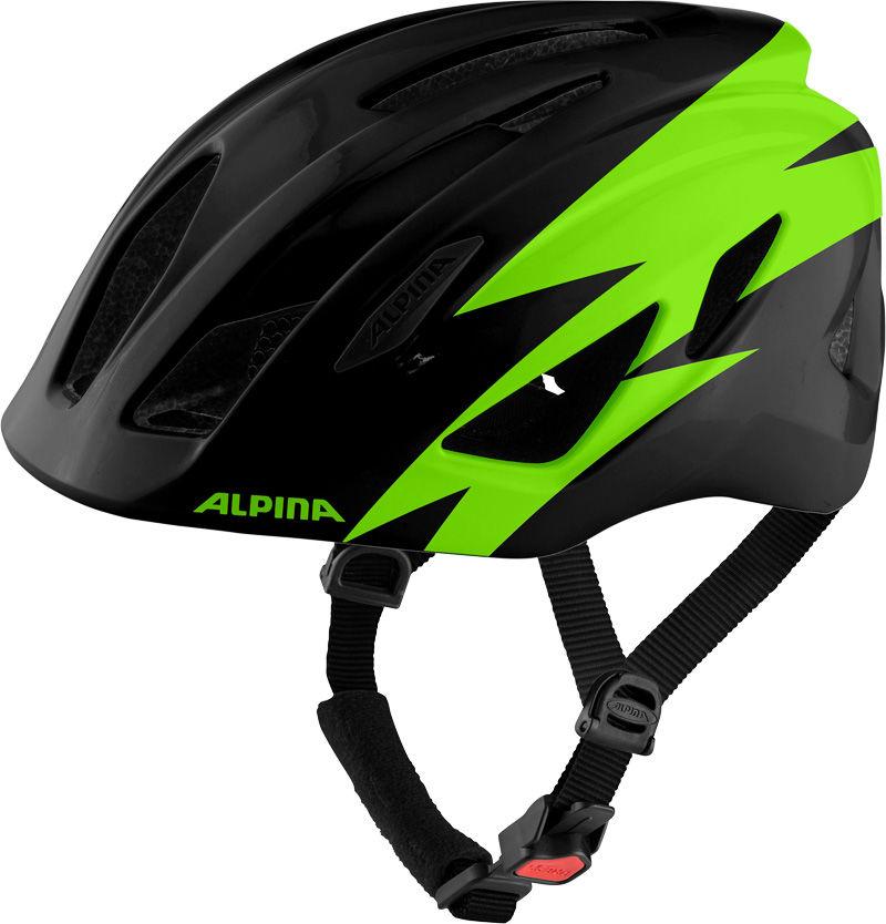ALPINA KASK ROWEROWY PICO BLACK-GREEN GLOSS Rozmiar: 50-55,A9761131pic