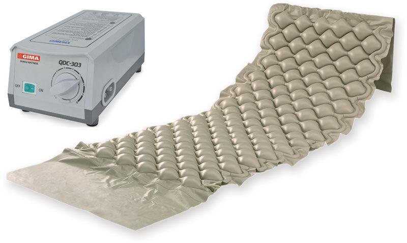 GIMA 28566 Zestaw przeciwodleżynowy Zestaw materac przeciwodleżynowy z kompresorem