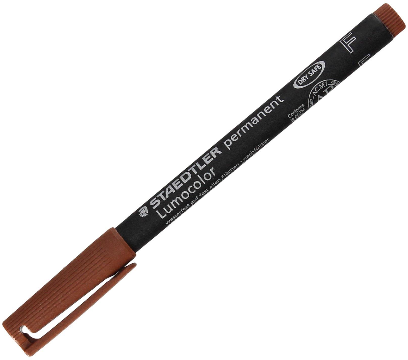 Foliopis 0.6mm brązowy Lumocolor F318