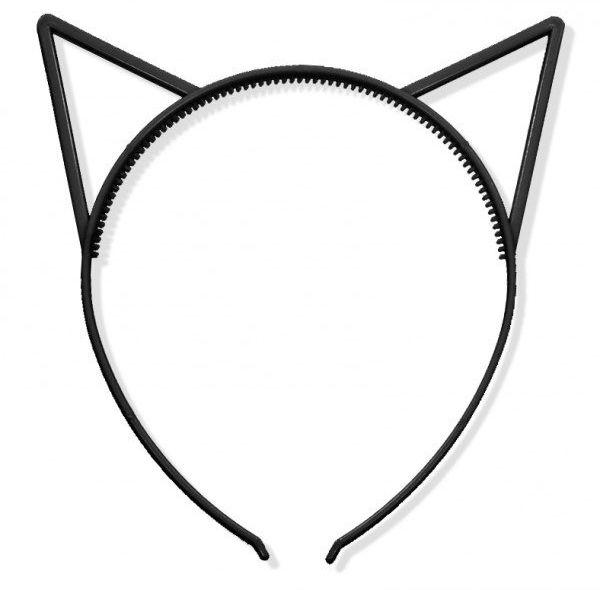 Opaska kotek czarna 1 sztuka K10C
