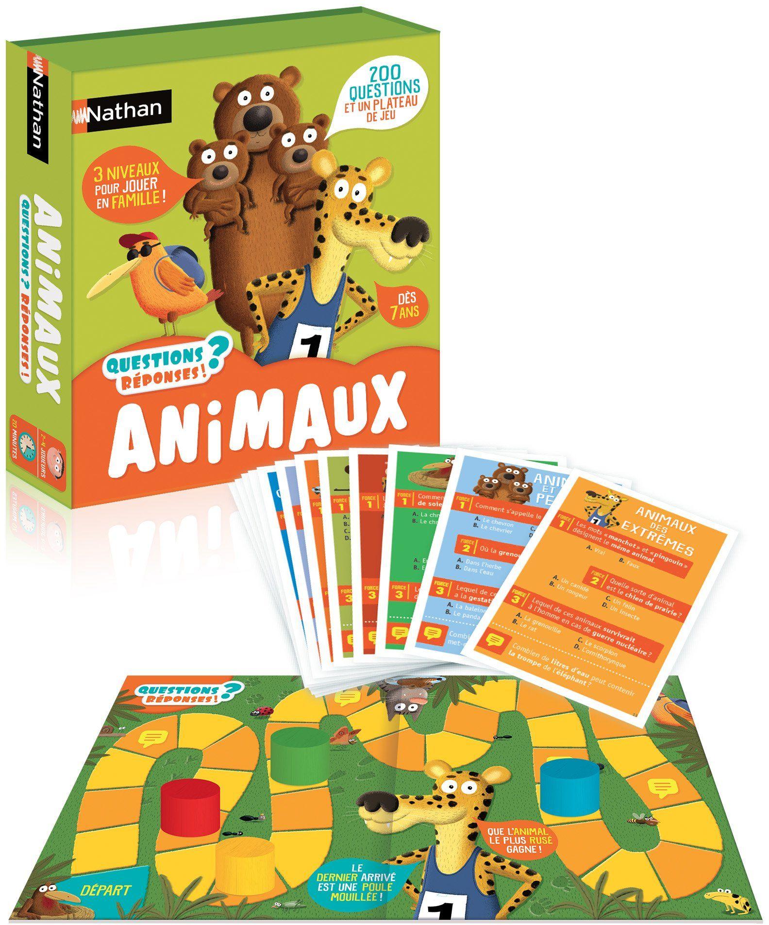 Nathan  315 gra planszowa dla dzieci (wersja francuska)