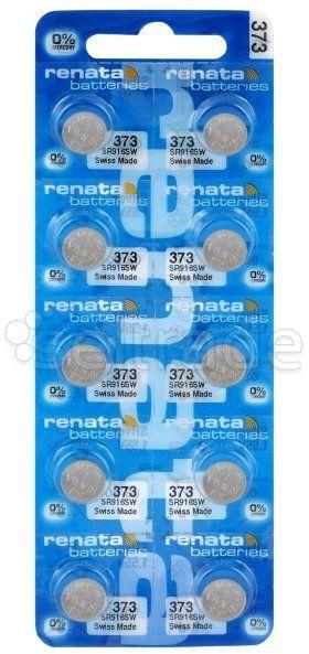 Bateria srebrowa mini Renata 373 / SR 916 SW