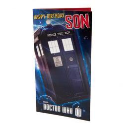Doktor Who - kartka urodzinowa