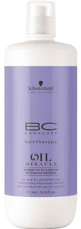 Schwarzkopf BC Oil Miracle Barbary Fig Oil szampon odbudowujący z olejkiem opuncji figowej 1000ml