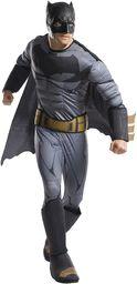 DC Comics Batman Deluxe kostium męski, rozmiar uniwersalny (Rubie''s 820749)