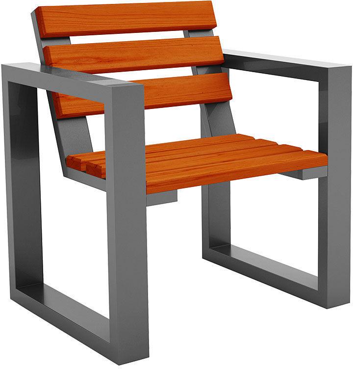 Fotel ogrodowy Norin Silver- 8 kolorów
