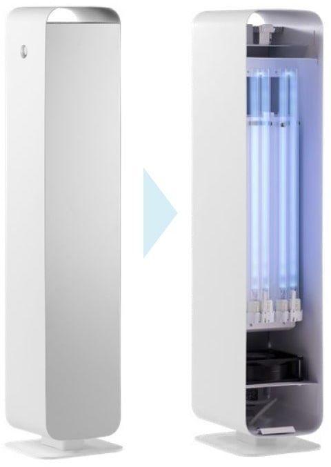 Lena Lighting Lampa UV-C Sterilon Flow 144W Lampa UV-C 144W dwufunkcyjna, przepływowa