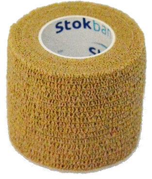 StokBan 5 x 450cm-w kolorze skóry Bandaż elastyczny samoprzylepny
