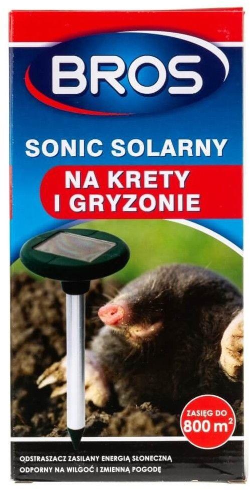 Bros Sonic solarny Odstraszacz kretów i gryzoni