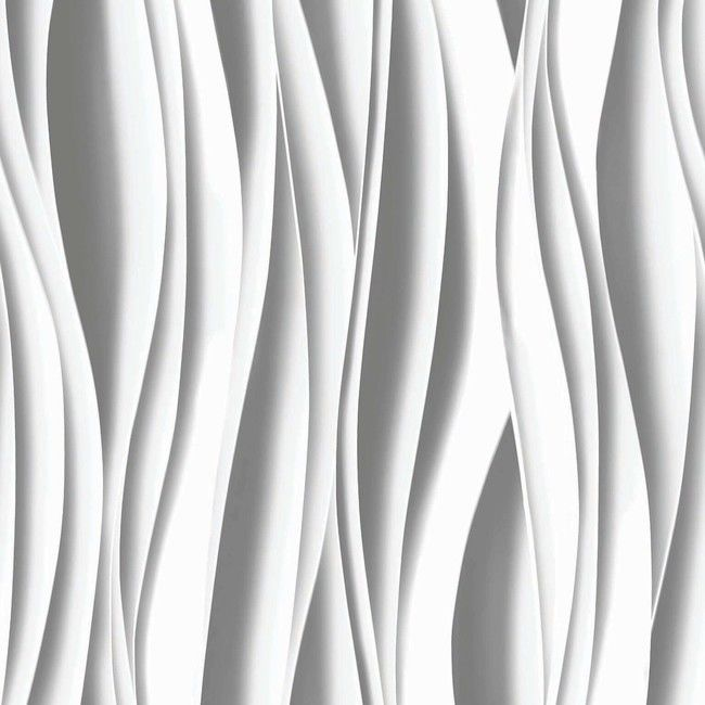 Tapeta flizelinowa GoodHome Kobresia biała