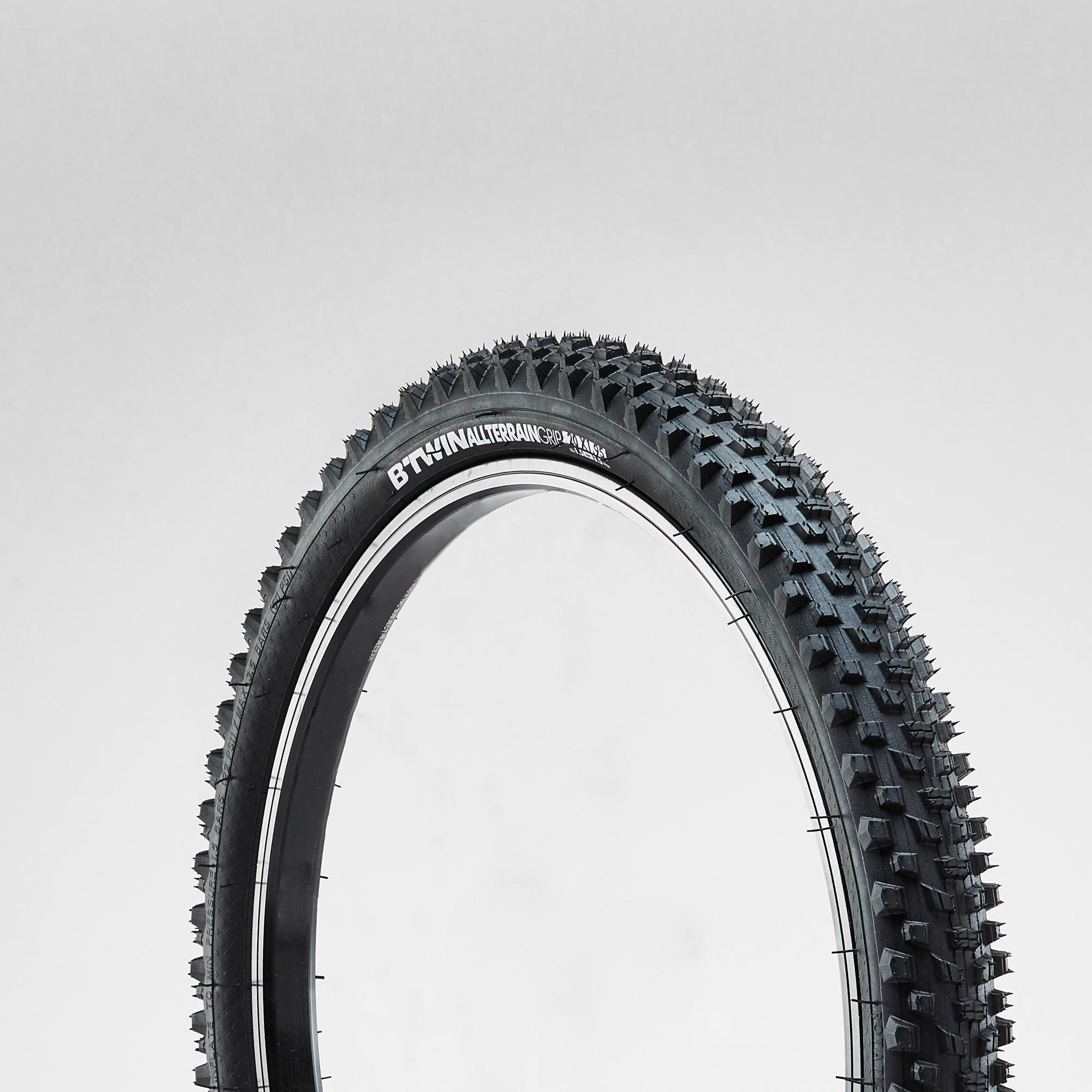 Opona do roweru MTB dziecięcego SKINWALL 20x1,95 ze sztywną stopką /ETRTO 47-406