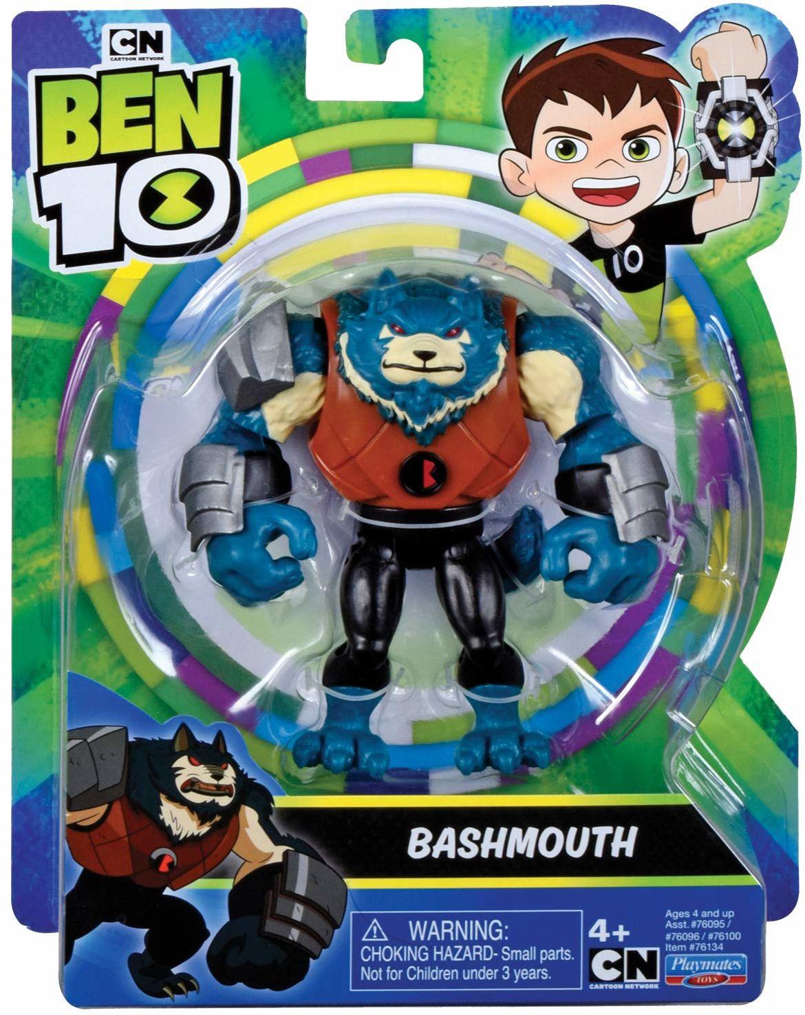 Ben 10 BEN47A10 Figurka akcji Zły Obcy Bashmouth