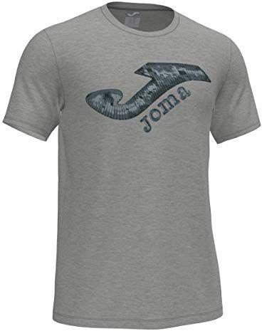 Joma Męskie T-shirty Marsella II szary szary melanż, przezroczysty 4XS-3XS