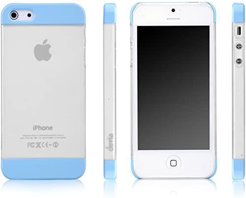 Devia Case Fresh iPhone 5S/SE torba na dowód osobisty, niebieski (wielokolorowa) - BRA002695
