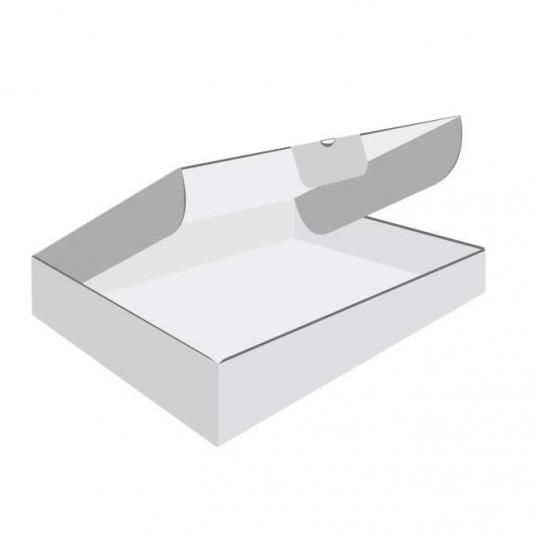 Karton fasonowy 350 x 250 x 50 bialy f 426, wymiar zewnętrzny