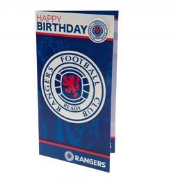 Glasgow Rangers - kartka urodzinowa