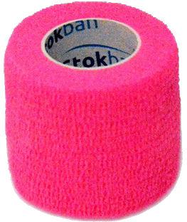 StokBan 5 x 450cm-różowy Bandaż elastyczny samoprzylepny