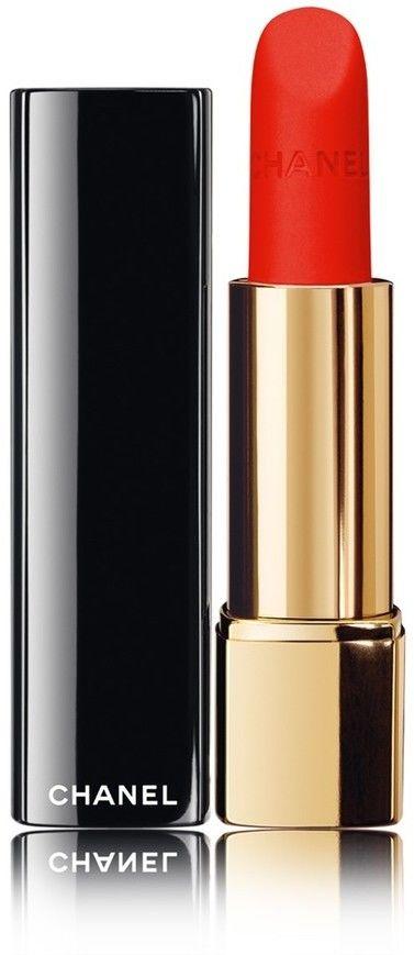 Chanel Rouge Allure Velvet jedwabista pomadka z matowym wykończeniem odcień 64 First Light 3,5 g