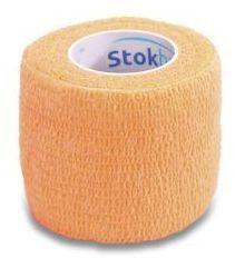 StokBan 5 x 450cm-pomarańczowy Bandaż elastyczny samoprzylepny