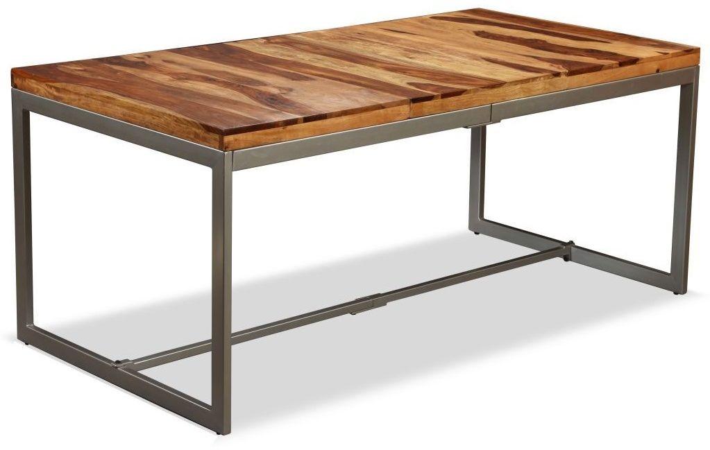 Industrialny stół z litego drewna sheesham  Varel